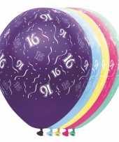 Verjaardag 16 jaar helium ballonnen trend