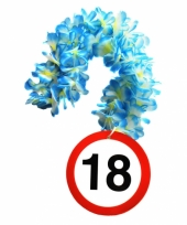 Verjaardag 18 jaar bloemenslinger trend