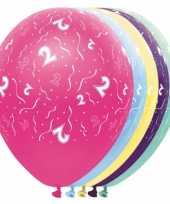 Verjaardag 2 jaar helium ballonnen trend