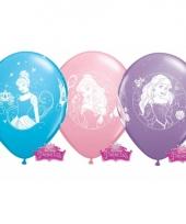 Verjaardag ballonnen van disney princess 6x trend