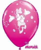 Verjaardag ballonnen van minnie mouse 6x trend