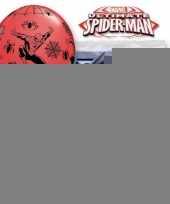 Verjaardag ballonnen van spiderman 6x trend