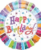 Verjaardag folie ballon helium trend