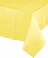 Verjaardag tafellaken geel trend