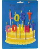 Verjaardagskaarsjes lost count trend