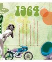 Verjaardagskaart met muziekhits uit 1964 trend