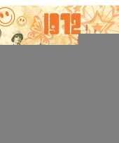 Verjaardagskaart met muziekhits uit 1972 trend