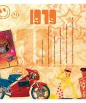Verjaardagskaart met muziekhits uit 1979 trend