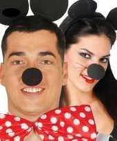 Verkleed neus minnie zwart trend