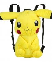 Verkleed rugtas pikachu trend