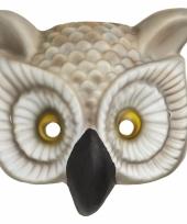 Verkleed uilen masker trend