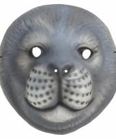Verkleed zeehond masker trend