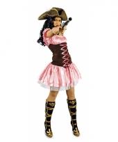 Verkleedkleding roze musketiersjurkje trend