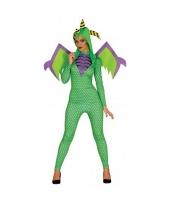 Verkleedpak draken kostuum voor vrouwen trend