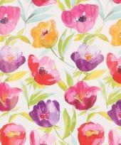 Verpakkings materiaal bloem print 26 trend