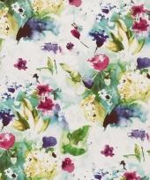Verpakkings materiaal bloem print 27 trend