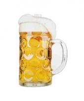 Versiering bierfeest kartonnen bierpul trend