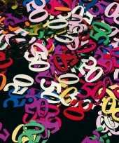 Vijftig jaren confetti versiering 45 gram trend