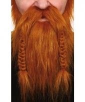 Viking baardset rood trend