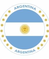 Viltjes met argentini vlag opdruk trend