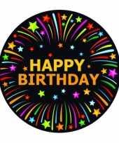 Viltjes met happy birthday opdruk trend