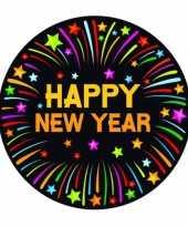 Viltjes met happy new year opdruk trend