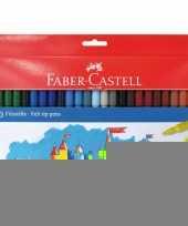 Viltstiften gekleurd 50 stuks trend