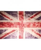 Vintage vlag verenigd koninkrijk 150 x 90 cm trend
