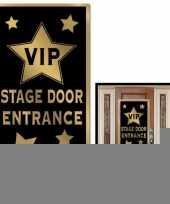 Vip ingang deur banner 76 x 150 cm trend