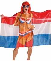 Vlag poncho vrouw trend