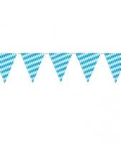 Vlaggenlijn blauw wit 4 meter trend