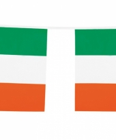 Vlaggenlijn groen wit oranje 10 m trend