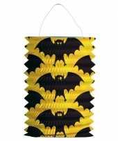 Vleermuis lampion voor halloween of heksen thema trend