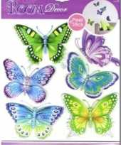 Vlinder decoratie stickers trend
