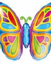 Vlinder folie ballon 63 cm trend