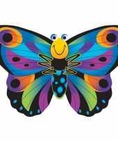 Vlinder vlieger gekleurd 76 x 112 cm trend