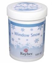 Vloeibare sneeuw voor raamdecoratie sjablonen trend