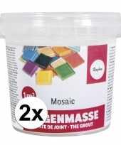Voegmiddel voor mozaiek steentjes 1000 gr trend