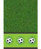Voetbal feest tafelkleed 130 x 180 cm trend