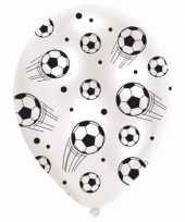 Voetbal thema decoratie ballonnen trend
