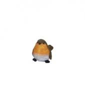 Vogel beeldje roodborstje 7 cm trend 10081870