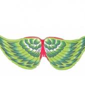 Vogel kinder vleugels groen trend