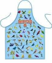 Vogel liefhebbers keukenschort trend