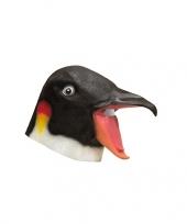 Vogel maskers pinguin kop trend