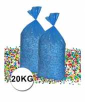 Voordeelverpakking gerecyclede feest confetti 20 kg trend