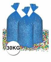 Voordeelverpakking gerecyclede feest confetti 30 kg trend