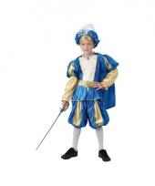 Voordelig blauwe prins kostuum voor jongens trend