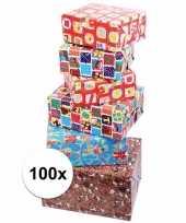 Voordelige inpakpapier sinterklaas 100x trend