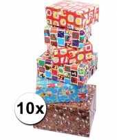 Voordelige inpakpapier sinterklaas 10x trend