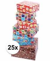 Voordelige inpakpapier sinterklaas 25x trend